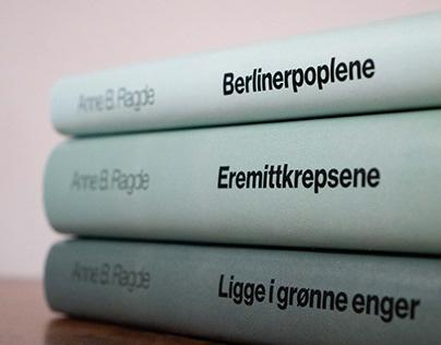 Re-design av bokserie | Anne B. Ragde
