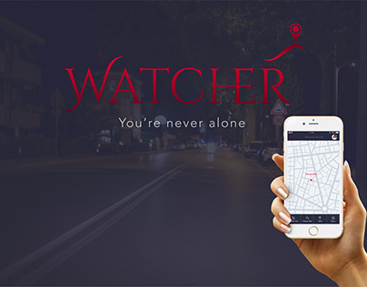 'WATCHER' Personal Safety Mobile App