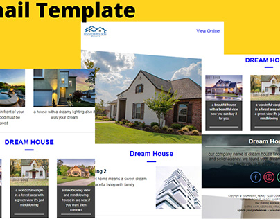 template design for real estate comany