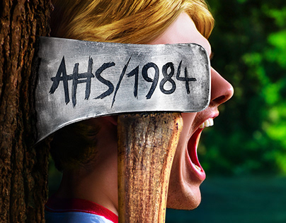 American Horror Story 1984 key art