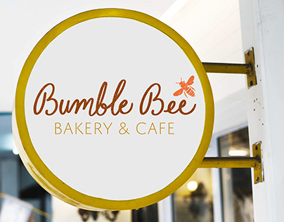 Bumble Bee Baker & Cafe Identity