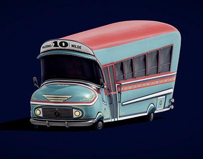 Colectivo 10 Toon (Argentine Bus)