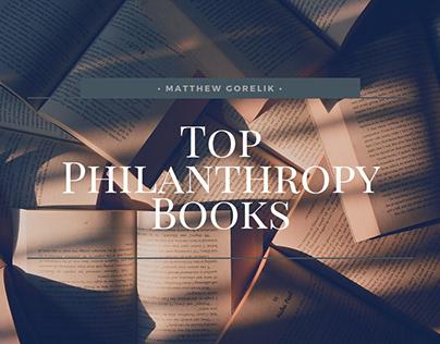 Top Philanthropy Books | Matthew Gorelik