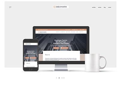 Devmark Website Design