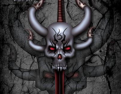 Infernal skull sword