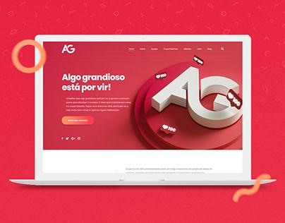 Landing Page - Agora Publicidade