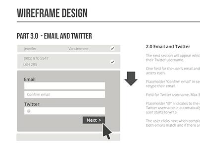Web Form Concept