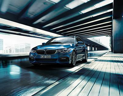CGI & Postproduction BMW 5er Touring