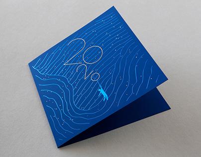 2020 Greeting card - AM Studio