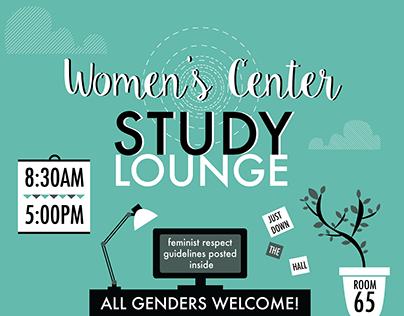 Women's Center design work