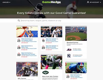 GameHedge Website