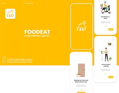 Food Eat App UI
