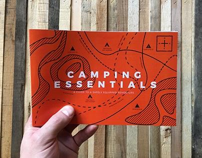 Camping Essentials // Brochure Design