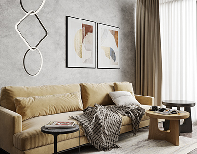 PH1 Cozy apartment design project