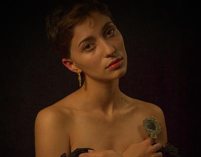femme baroque.