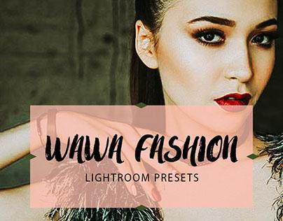Wawa Fashion Lightroom Presets