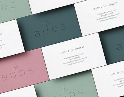 Buds Plant Boutique Brand & Identity
