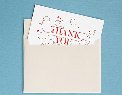 Thank You Card | Postcard