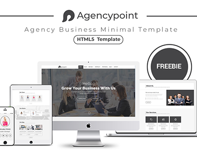 AGENCYPOINT - Agency Business Template/ FREEBIE