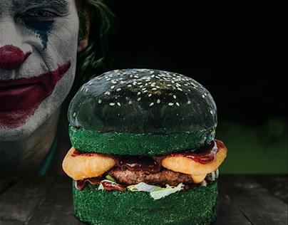 Joker Burger motion poster for Fryday