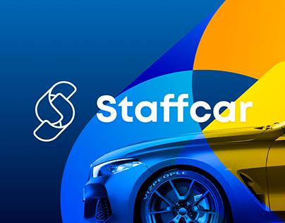 Staffcar: online auctions logo & website