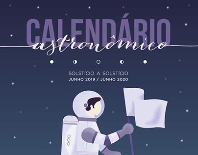 Calendário Astronômico 2019/2020