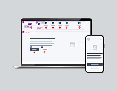 Wireframes - Personal Website