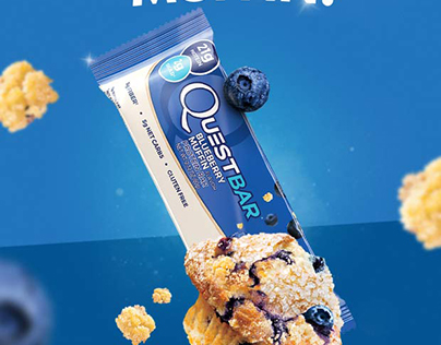 Quest Blueberry Muffin