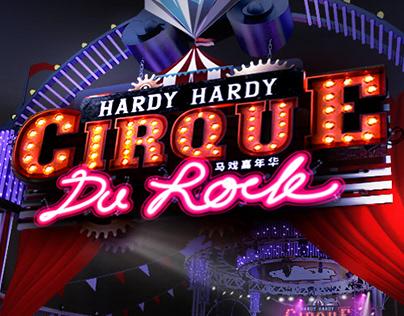 HARDY HARDY_CIRQUE DU ROCK