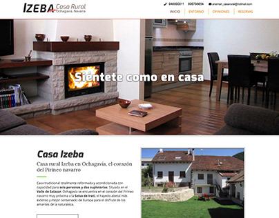 Diseño web para casa rural en Ochagavía, Navarra