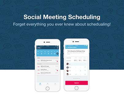 Social Scheduling App