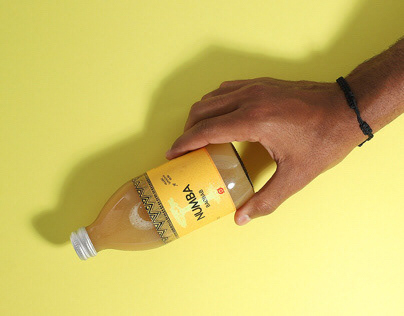 Label Design: Numba superfood drink