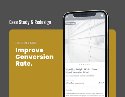 PDP Case Study & Redesign