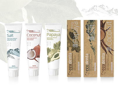 Ecodenta COSMOS package design