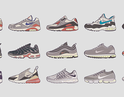 Evolution of Nike Air Max