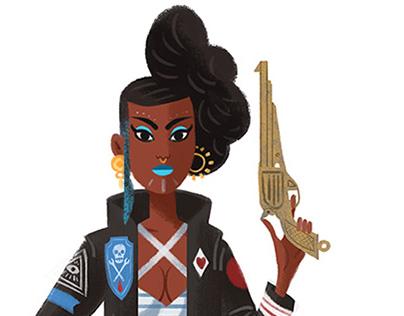Pirates - Character Design