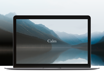 Calm Remote Meditation — UX/UI