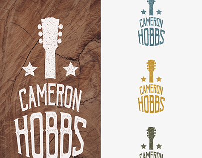 Logo concept for a country music artist