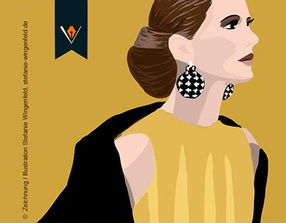 Fashion Illustration / Adobe Draw