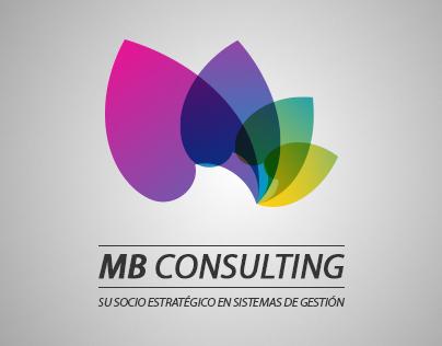 Logotipo y página web Mb Consulting