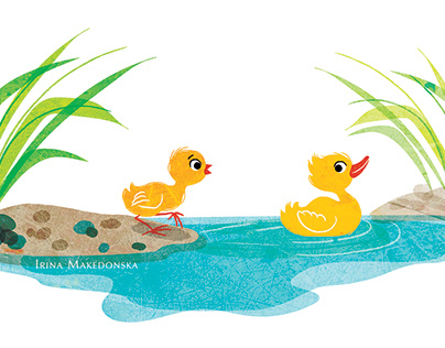 Children tale illustration