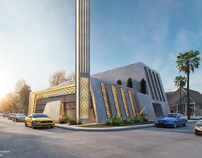 Arabic Modern Masjid