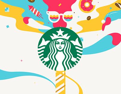 Starbucks Cookie Straw
