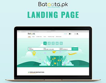 Batoota's UI Design
