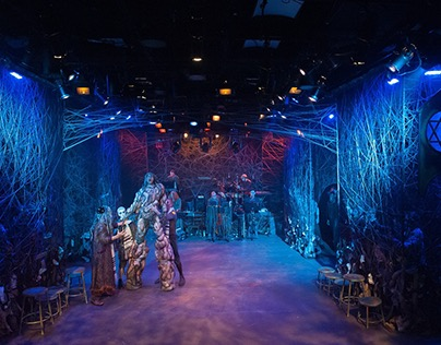 The Golem: a Horror Opera | Scenic Design