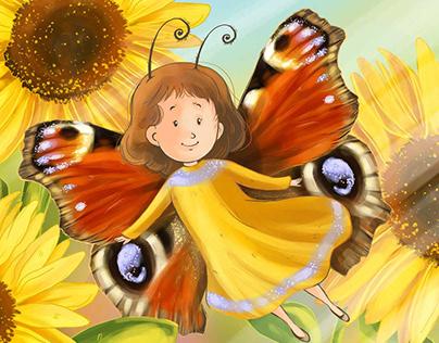 Kinderbuch Milenas Engel
