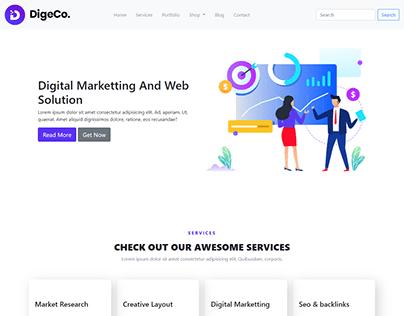 Online StartUp Business Website