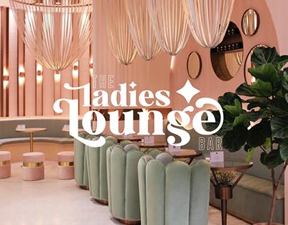 ladies lounge cocktail bar branding