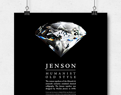 The Diamond Cut - Typography Anatomy