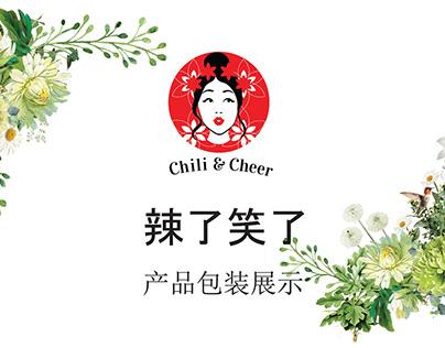 Chili & Cheer Branding and Packaging